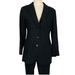 auth CHANEL size 40 100%LINEN pant suit $6800